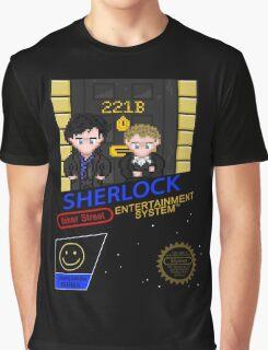 NINTENDO: NES SHERLOCK Graphic T-Shirt