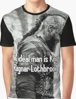 vikings king ragnar lodbrok Graphic T-Shirt