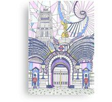 London Composition 3 Canvas Print