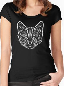 Cat Crazy Women's Fitted Scoop T-Shirt