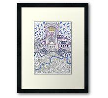 London Composition 4 Framed Print