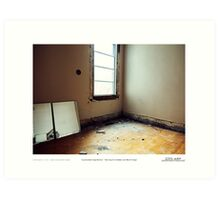 accumulated imperfection 3 Art Print