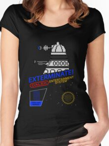 NINTENDO: NES EXTERMINATE! Women's Fitted Scoop T-Shirt