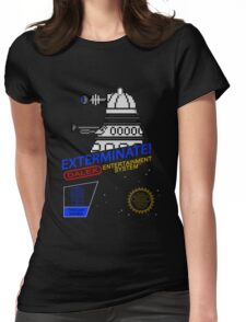 NINTENDO: NES EXTERMINATE! Womens Fitted T-Shirt