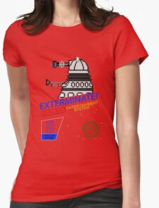 NINTENDO: NES EXTERMINATE! Womens Fitted T-Shirt
