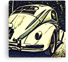 Oval bug Canvas Print