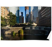 Sunny Oasis - a Peaceful Green Spot in the Heart of Manhattan, New York City, USA Poster