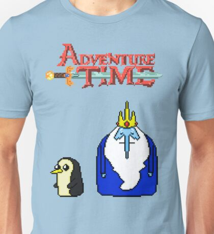 ADVENTURE TIME WITH ICE KING AND GUNTER Unisex T-Shirt