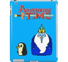 ADVENTURE TIME WITH ICE KING AND GUNTER iPad Case/Skin