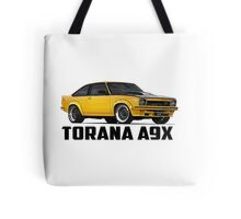 Holden Torana - A9X Hatchback - Yellow Tote Bag