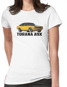 Holden Torana - A9X Hatchback - Yellow Womens Fitted T-Shirt