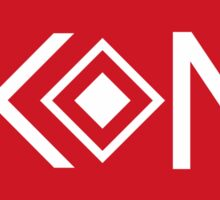 Ikon Red Logo Tshirt Sticker