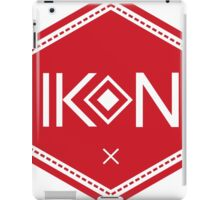 Ikon Red Logo Tshirt iPad Case/Skin