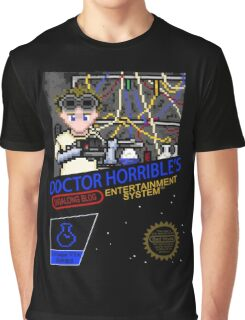 NINTENDO: NES DOCTOR HORRIBLE  Graphic T-Shirt