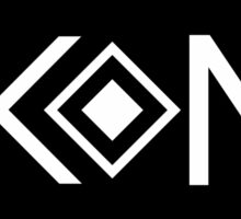 Ikon Black Logo Tshirt Sticker