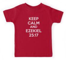Keep Calm and Ezekiel 25:17 Kids Tee