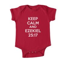 Keep Calm and Ezekiel 25:17 One Piece - Short Sleeve