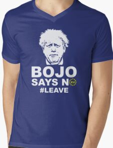 Bo Jo says no ukip Mens V-Neck T-Shirt