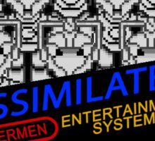 NINTENDO: NES ASSIMILATE! Sticker