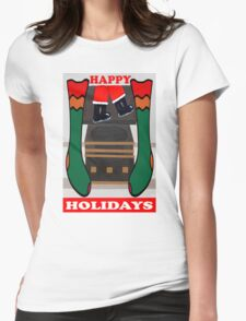 HAPPY HOLIDAYS 4 Womens Fitted T-Shirt