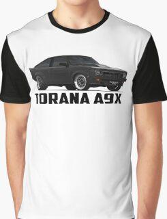 Holden Torana - A9X Hatchback - Black Graphic T-Shirt