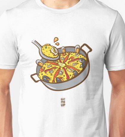 Eat Me Up : Paella Unisex T-Shirt
