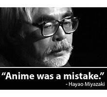anime was a mistake Photographic Print