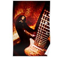 Grunge strat Poster