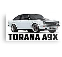 Holden Torana - A9X Hatchback - White Metal Print