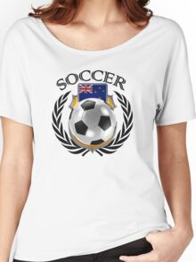 New Zealand Soccer 2016 Fan Gear Women's Relaxed Fit T-Shirt