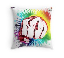 That awesome right before the hook !  Throw Pillow