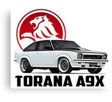 Holden Torana - A9X Hatchback - White 2 Canvas Print