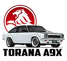 Holden Torana - A9X Hatchback - White 2 Photographic Print