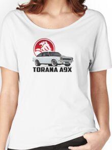 Holden Torana - A9X Hatchback - White 2 Women's Relaxed Fit T-Shirt