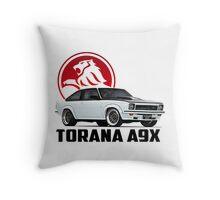 Holden Torana - A9X Hatchback - White 2 Throw Pillow