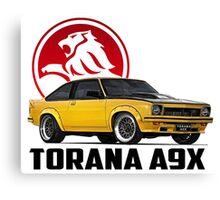 Holden Torana - A9X Hatchback - Yellow 2 Canvas Print