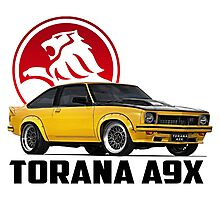 Holden Torana - A9X Hatchback - Yellow 2 Photographic Print