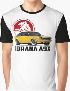 Holden Torana - A9X Hatchback - Yellow 2 Graphic T-Shirt