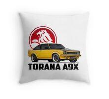Holden Torana - A9X Hatchback - Yellow 2 Throw Pillow