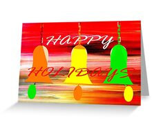 HAPPY HOLIDAYS 11 Greeting Card