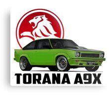 Holden Torana - A9X Hatchback -  Green 2 Metal Print