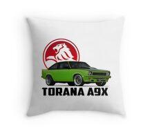 Holden Torana - A9X Hatchback -  Green 2 Throw Pillow