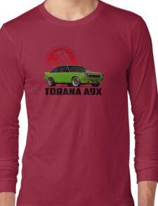 Holden Torana - A9X Hatchback -  Green 2 Long Sleeve T-Shirt
