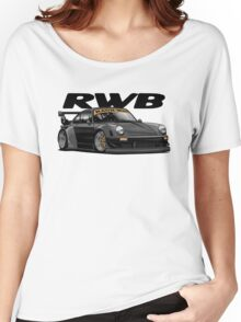 RWB (black) Women's Relaxed Fit T-Shirt