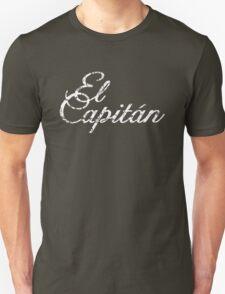 El Capitán Vintage White Unisex T-Shirt