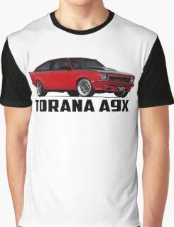 Holden Torana - A9X Hatchback - Red Graphic T-Shirt