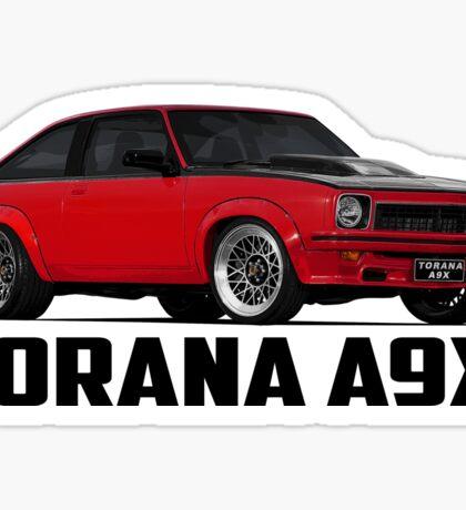 Holden Torana - A9X Hatchback - Red Sticker