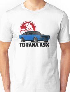 Holden Torana - A9X Hatchback - Blue 2 Unisex T-Shirt