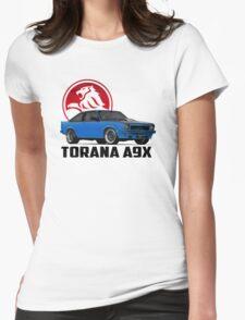 Holden Torana - A9X Hatchback - Blue 2 Womens Fitted T-Shirt