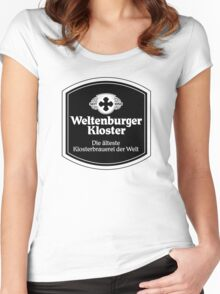 Weltenburger Kloster Women's Fitted Scoop T-Shirt